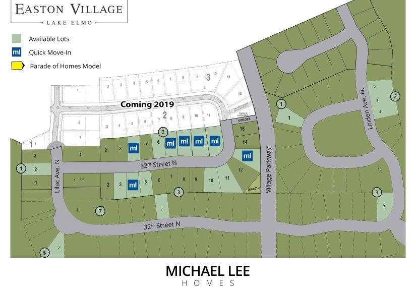 Easton_Village_Lot_Map_10_01_18